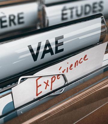 VALIDATION DES ACQUIS DE L'EXPÉRIENCE